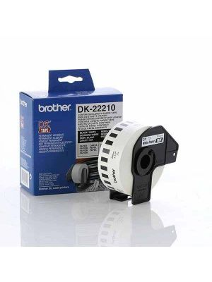 Brother White Cont. Paper Roll Direct Thermal Roll 2.9x 30.5m