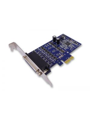 Sunix IPCE3204S PCIE 4-Port 3 in 1 RS 232/422/485 Surge Protection Card with DB9M connector