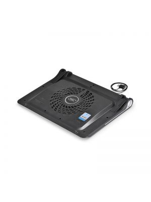 Deepcool N180 FS Notebook Cooler (Up To 17'), 2 Viewing Angles, 180mm Fan, USB Pass-through