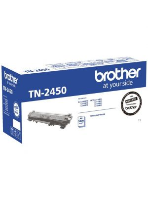 Brother TN-2450 Mono Laser Toner- Standard, HL-L2350DW/L2375DW/2395DW/MFC-L2710DW/2713DW/2730DW/2750DW up to 3,000 pages