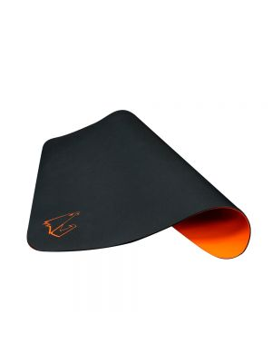 Gigabyte AORUS AMP300 Hybrid Gaming Mouse Pad Fabric Black Surface Organse Silicon Base Heat Molding Edge Spill-Resistant Washable 324x273x1.8mm