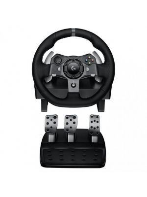 Logitech G920 Driving Force Racing Wheel for XBOX/PC Dual-Motor Force Feedback - Dual motor force feedback Precision control (LS)