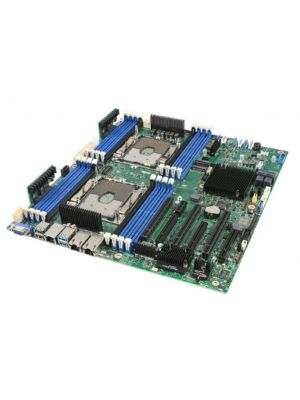 Intel S2600STB Server Motherboard, Dual  LGA3647, C624 Chipset, 16 x DIMM, 2 x 10GbE, PCIe x 16, SSI EEB, to suit P4304 Chassis