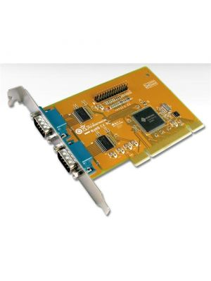 Sunix MIO5079A PCI 2-Port Serial RS-232 and 1-Port Parallel IEEE1284 Card; Speed up to 115.2Kbps; Support Microsoft Windows, Linux, and DOS