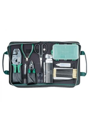 ProsKit Fibre Optic Tool Kit of basic tools that are essential for fibre optic termination