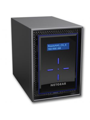 Netgear 2 Bay Diskless NAS INTEL ATOM Tower