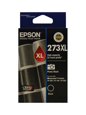Epson 273XL High Cap Photo Blk For XP-600, XP-700, XP-800