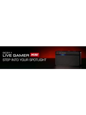 AVerMedia GC311 Live Gamer MINI. Recording @ 1080p60, HDMI Passthrough w/ Zero Latency. Full HD H. 264 Hardware Encoder. 12 Months Warranty