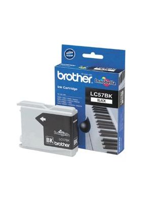 Brother LC-57BK Black Ink Cartridge- FAX-1360/2480C, DCP-130C/330C/540CN/350C, MFC-240C/440CN/3360C/5460CN/5860CN/665CW/465CN/685CW/885CW- up