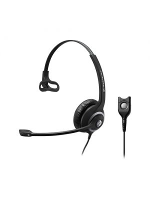 Sennheiser Wide Band Monaural headset with Noise Cancelling mic - low impedance for use with mobile phones and IP phones, Easy Disconnect