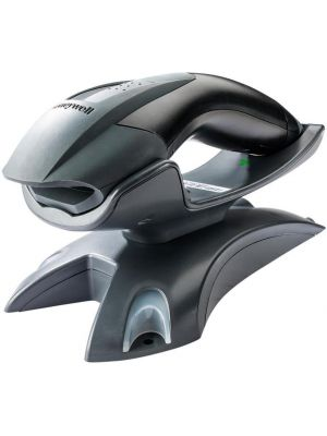 HONEYWELL 1202G KIT 1D CORDLESS SCANNER INCLUDES USB CABLE AND COMM BASE,BT,BLK,3YR WTY