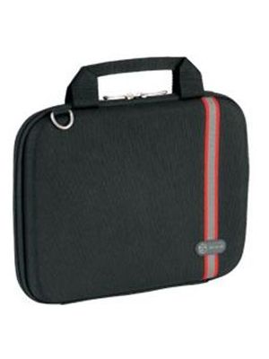 Targus 10' Racing Hard Case Racing Stripe Hardsided/Notebook/Laptop Bag -Black (LS)