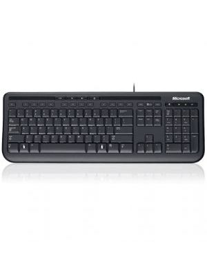 Microsoft Wired 600 Keyboard Only USB, 3 Year, ANB-00025 Retail Pack