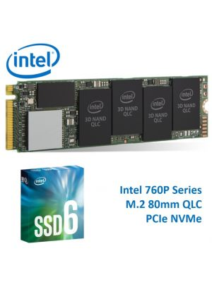 Intel 660P NVMe PCIe M.2 SSD 1TB 3D2 QLC 1800R/1800W MB/s 150K/220K IOPS 1.6 Million Hours MTBF Solid State Drive 5yrs Wty