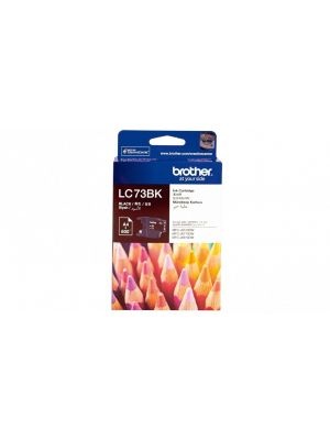 Brother LC-73BK Black High Yield Ink Cartridge- DCP-J525W/J725DW/J925DW, MFC-J6510DW/J6710DW/J6910DW/J5910DW/J430W/J432W/J625DW/J825DW - up to