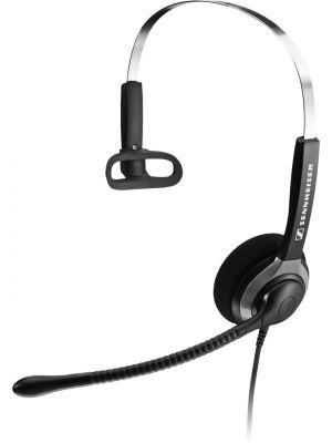 Sennheiser SH 230 USB Over the Head Monaural Wide Band Headset (504011)  -  Requires Easy Disconnect Cable