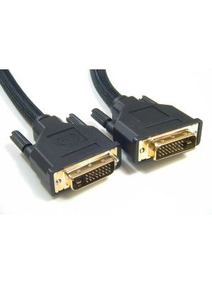 Astrotek DVI-D Cable 5m - 24+1 pins Male to Male Dual Link 30AWG OD8.6mm Gold Plated RoHS
