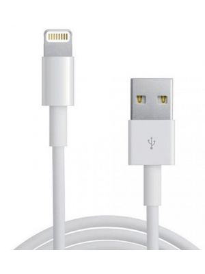 Astrotek 1m USB Lightning Data Sync Charger White Color Cable for iPhone 7S 7 Plus 6S 6 Plus 5 5S iPad Air Mini iPod ~CBAT-USBLIGHTNINGW-1