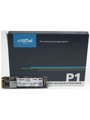 Crucial P1 1TB M.2 (2280) NVMe PCIe SSD - 3D NAND 2000/1700 MB/s Acronis True Image Cloning Software 5 yrs wty