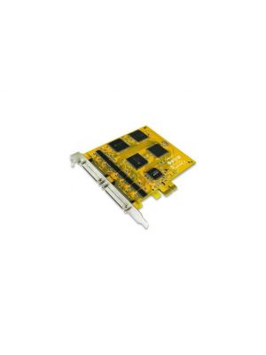 Sunix 16-port RS-232 High Speed PCI Express Serial Board, 921.6Kbps, Support Microsoft Windows, Linux, and DOS