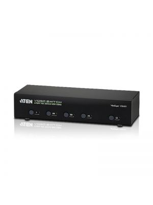 Aten VanCryst 4 Port VGA Video Switch with Audio and RS232 Control