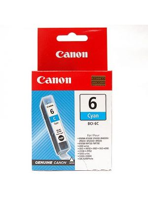 Canon BCI6C Cyan Ink Cart for S800 and BJC8200 printer