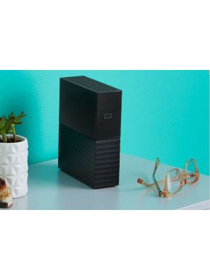 WD My Book 6TB 3.5' External Desktop HDD, With built-in 256-bit AES Hardware Encryption USB3.0 WDBBGB0060HBK-AESN