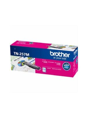 Brother TN-257M Magenta High Yield Toner Cartridge to Suit -  HL-3230CDW/3270CDW/DCP-L3015CDW/MFC-L3745CDW/L3750CDW/L3770CDW (2,300 Pages)