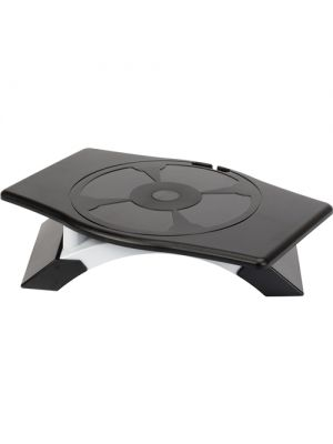 Targus Rotating Monitor Stand with Legs Adjust 9.5 to 11.3 cm - Black and Silver