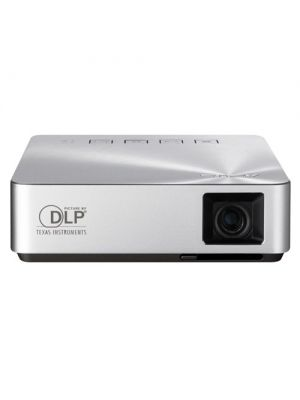 ASUS S1 Portable LED Projector, 200 Lumens, Built-in 6000mAh Battery, Up to 3-hour Projection, Power Bank, HDMI/MHL (LS)