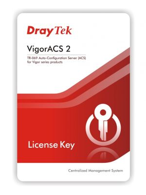 Draytek VigorACS 2 1(One) year license key for 25 CPE nodes - Centralized Management System for Vigor Router & VigorAP 2yr wty