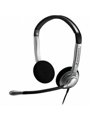 Sennheiser SH350, Over the head, binaural headset with large ear cups supplied with noise cancelling microphone and ActiveGard® protection technology.