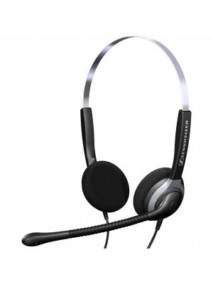 Sennheiser SH 250 Over the Head Binaural Narrow Band Headset (500223)  -  Requires Easy Disconnect Cable